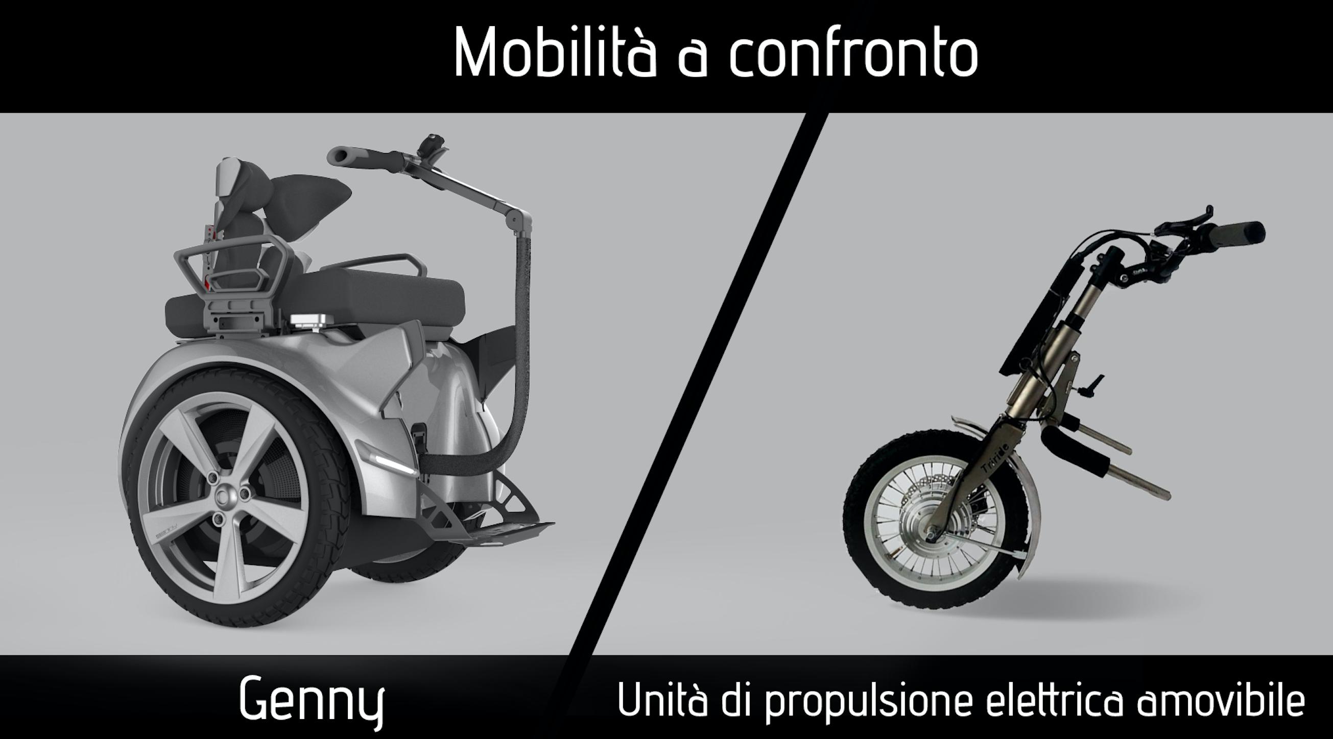 """Mobilità a confronto oggi abbiamo provato """"Unità di propulsione elettrica anteriore amovibile"""""""