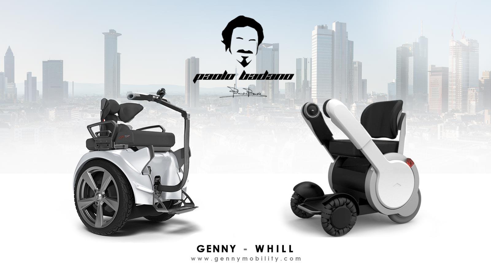 Mobilità a confronto: Genny incontra WHILL