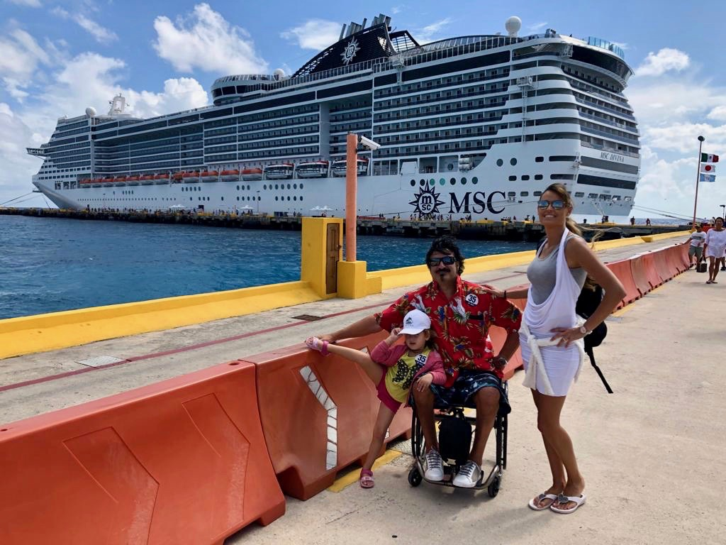 MSC cruise and disability