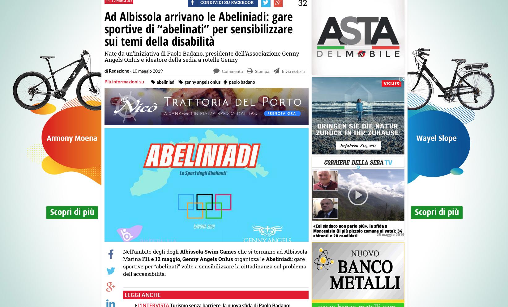 (Italiano) Intervista: Lei dice che il turismo accessibile é una risorsa non ancora scoperta, perché?
