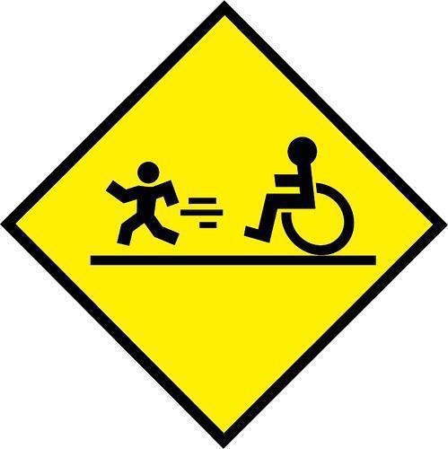 """Accessibilità e protezione """"Corriere della sera Blog"""""""